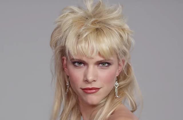 Les tendances beauté des années 80, de la coupe mulet aux paupières fluo
