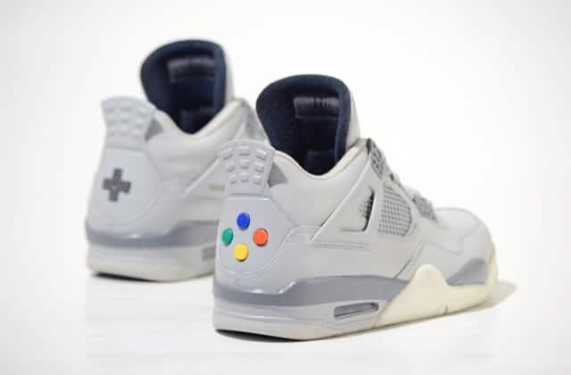 Les baskets Super NES vous rendent geek jusqu'au bout des orteils