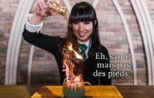 Le café Harry Potter, sa Coupe de Feu enflammée et son menu qui fait saliver