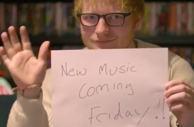 Le top des réactions de fans qui craquent quand Ed Sheeran fait du teasing sur Twitter