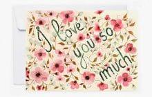 Les cartes de vœux de Saint-Valentin sont sur Etsy! (+concours)