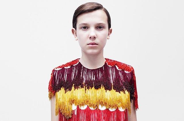 Millie Bobby Brown (Stranger Things) est la nouvelle égérie de Calvin Klein