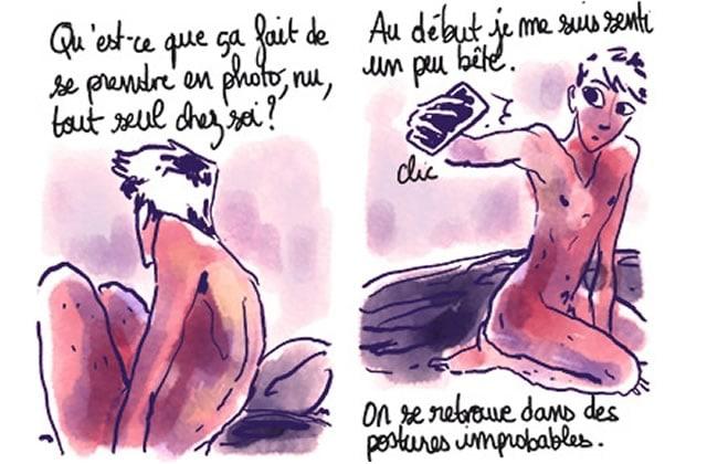Les photos de nu et l'amour de soi délicatement croqués par Monsieur Q