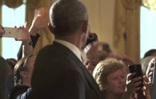 Les États-Unis disent au revoir à Obama, et c'est plein d'émotions