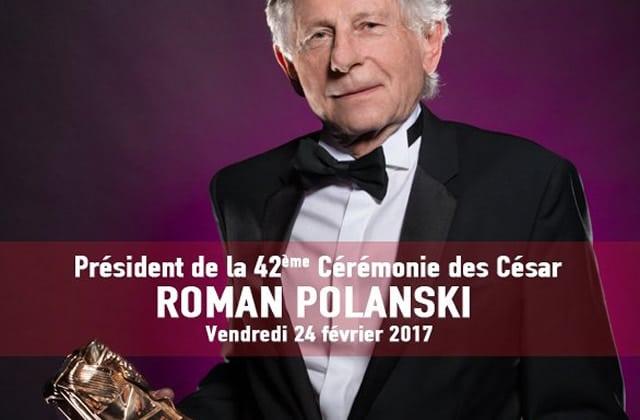 Roman Polanski n'est plus Président des César 2017 (mise à jour)
