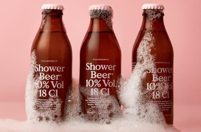Découvrez la Shower Beer, la bière sous la douche… ou le double kif incarné