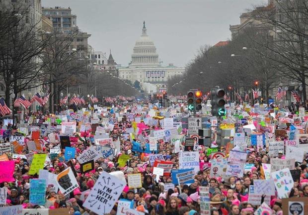 Retour sur la Women's March, manifestation exceptionnelle et positive