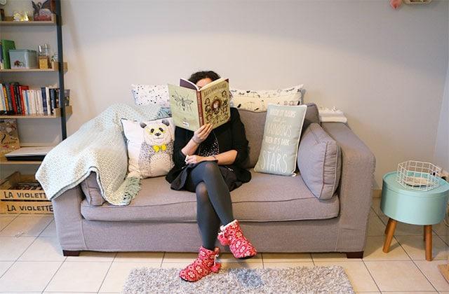 Dans l'appart' de Violette, bibliothécaire à Nanterre