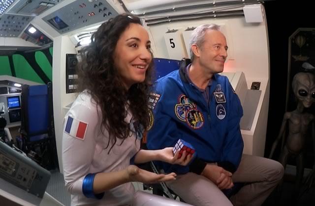 Découvre les coulisses de Spatialiste, la web-série sur l'espace avec Florence Porcel