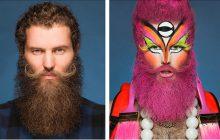 #Dragformation, des photos avant/après d'artistes drag totalement époustouflantes!