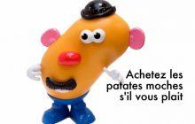 Monsieur Patate s'engage dans la lutte contre le gaspillage alimentaire!