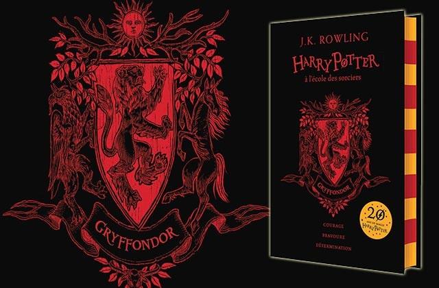 «Harry Potter à l'école des sorciers»fête son anniversaire avec quatre éditions aux couleurs de chaque maison