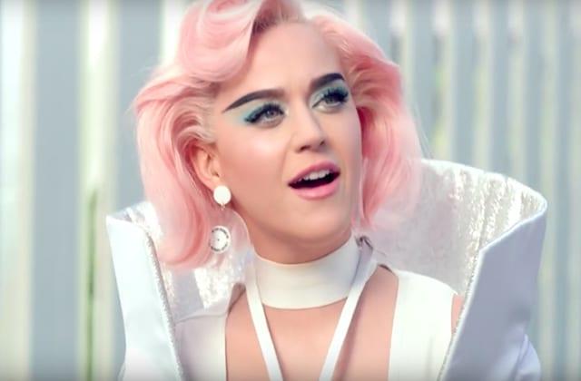 Katy Perry offre une vision grinçante de l'avenir dans le clip futuriste de «Chained To The Rhythm»