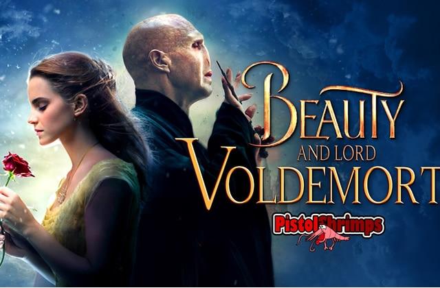 La Belle et Lord Voldemort, le mashup à crever de rire