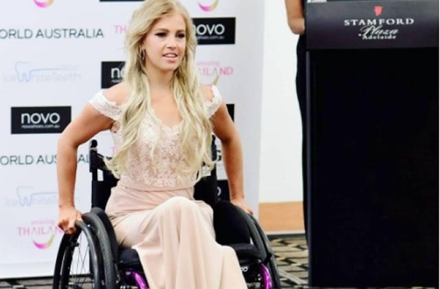 Une miss australienne en fauteuil roulant fait parler d'elle