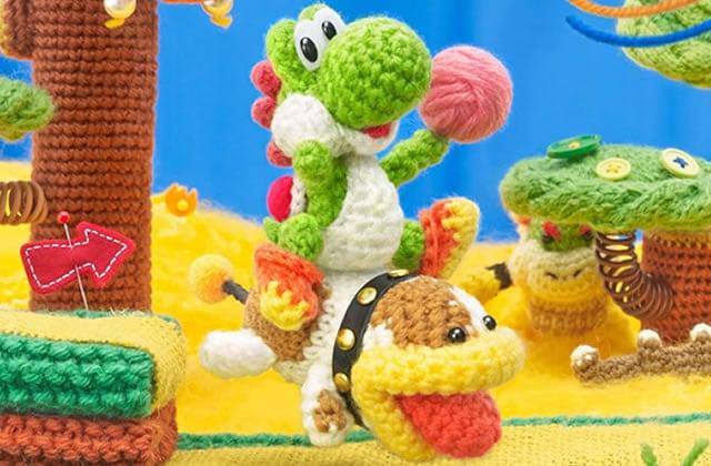 Poochy & Yoshi's Wooly World, un monde de douceur sur Nintendo 3DS