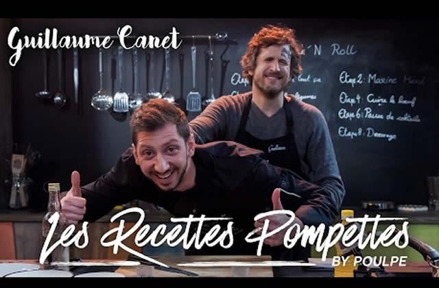 Guillaume Canet est le nouvel invité rock'n'roll des Recettes Pompettes!