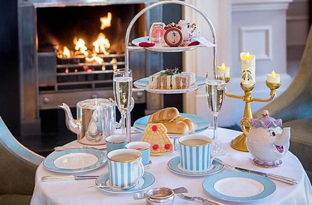 Le salon de thé La Belle et la Bête, je n'y crois pas c'est merveilleux (zut, mauvais Disney)