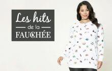 Des sweat-shirts «grandes tailles» cool pour l'hiver2017 — Les 10Hits de la Fauchée#219