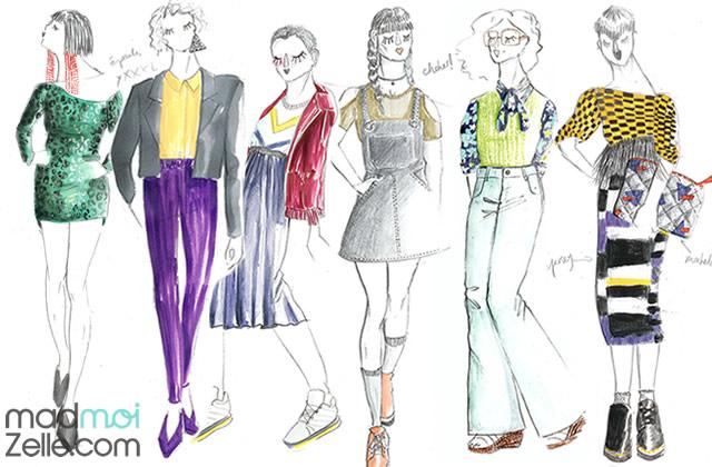 Les tendances mode printemps/été 2017