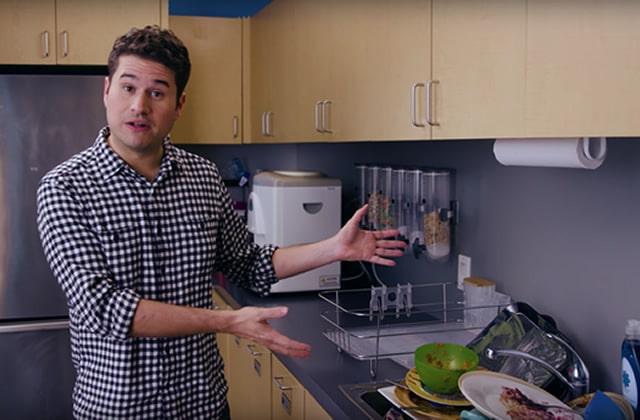 Comment faire une putain de vaisselle?—Tuto vidéo pour coloc relou