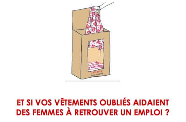 Donne tes vêtements à Camaïeu pour aider les femmes en réinsertion!