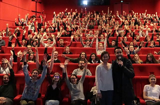 Le #CinémadZ De Plus Belle (avec l'équipe du film), un beau moment à retrouver en vidéo