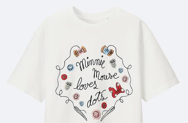 La collection «Minnie Mouse loves dots», d'Uniqlo et Olympia Le-Tan, est disponible!