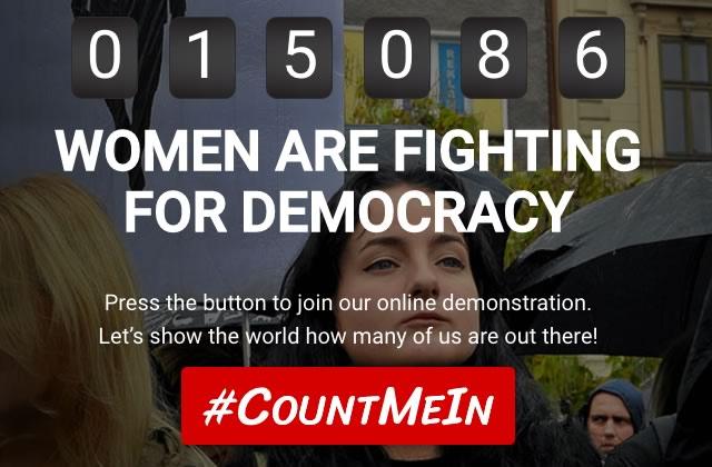 #CountMeIn, le mouvement planétaire pour les droits des femmes