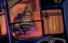 La super couverture d'Harry Potter et le prisonnier d'Azkaban en version illustrée