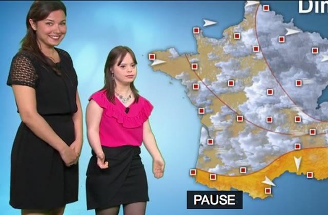 Mélanie a réalisé son rêve en présentant la météo de France 2!
