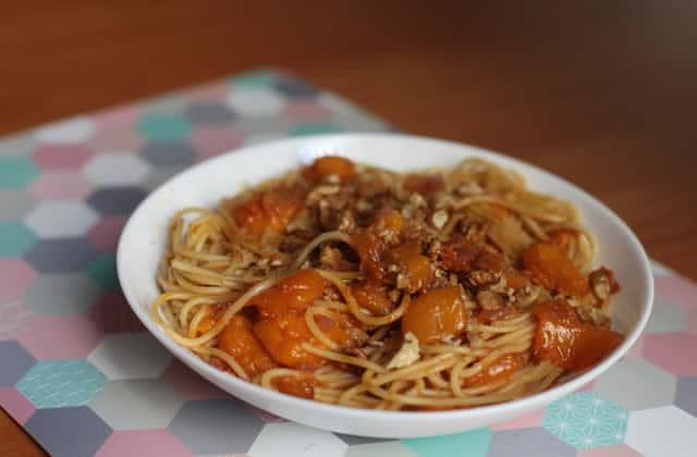 Les spaghettis aux mangues et aux spéculoos, une recette surprenante inspirée par Loïc Nottet