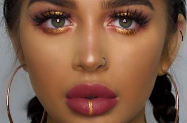 Du maquillage au piercing, il n'y a qu'un pas avec le faux lip ring !