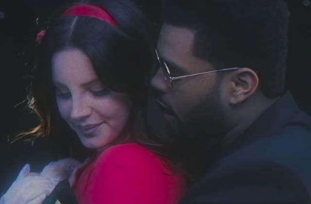 Lana Del Rey roucoule avec The Weeknd dans le clip de Lust For Life