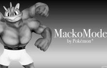 Le pokémon Mackogneur égérie d'une collection de caleçons
