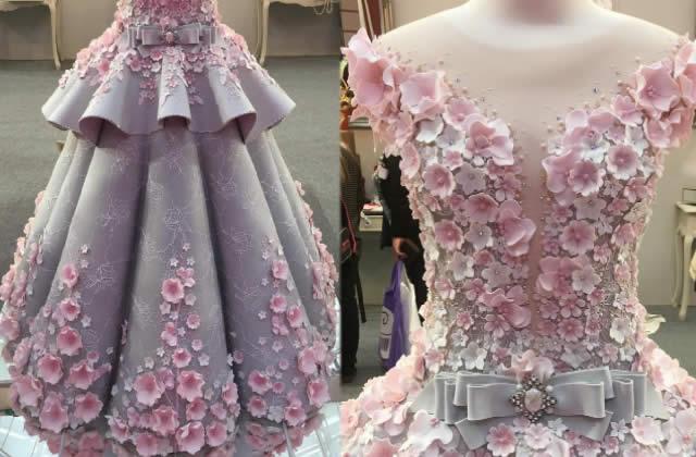 Cette magnifique robe cache un secret bien gourmand!