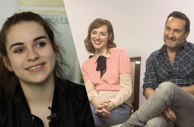 Adèle Castillon, Louise Bourgoin et Gilles Lellouche vous parlent de Sous le même toit