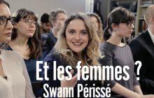 Swann Périssé trolle les débats de l'élection présidentielle, sur la question des droits des femmes