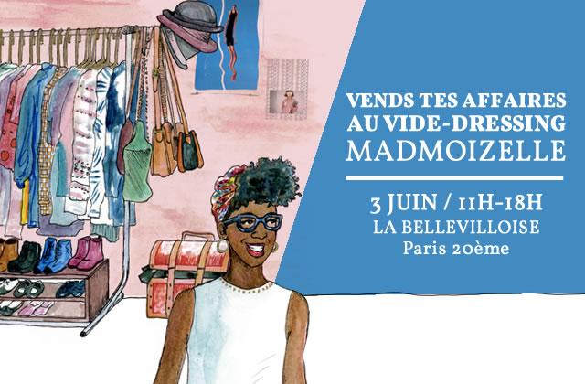 Viens vendre tes fringues au prochain vide-dressing madmoiZelle!