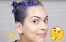 Le shampoing violet pour déjaunir les cheveux, ça marche vraiment?