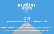 Le deuxième bulletin, une solution pour pouvoir « voter Macron, mais.. »?