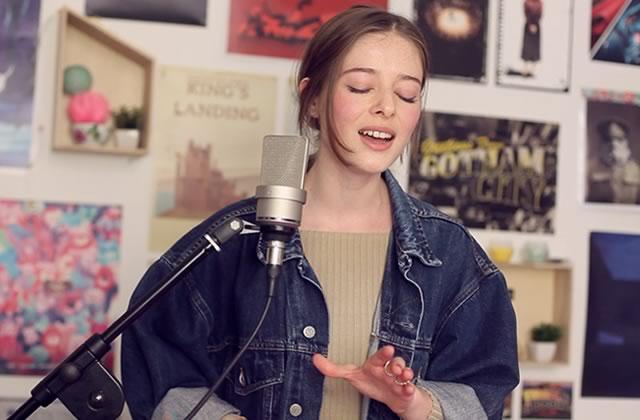 Eugénie interprète en live Puis Danse, le futur tube de l'été 2017