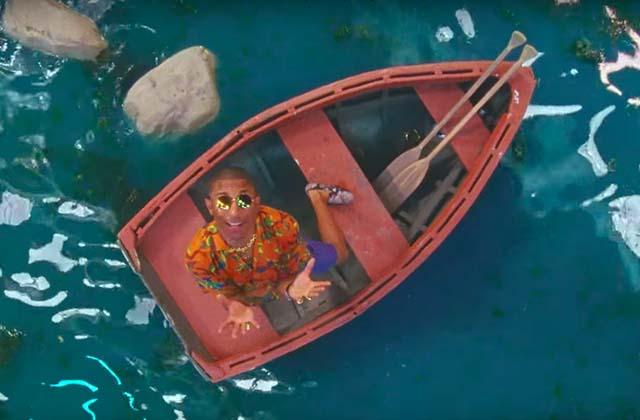 Pharrell, Katy et des perroquets sont dans le nouveau clip tropical de Calvin Harris