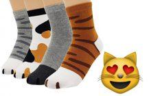 Les chaussettes qui te feront une patte de velours