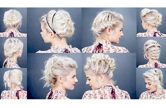 Dix (trop) belles coiffures pour cheveux courts simples à réaliser!