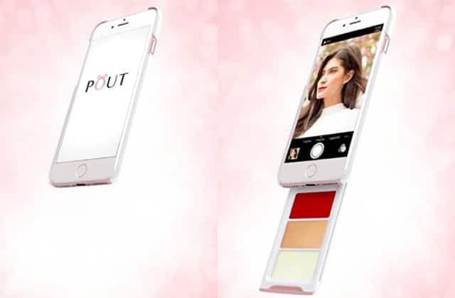 La coque pour smartphone à palette de maquillage intégrée, un vrai gadget de Totally Spies