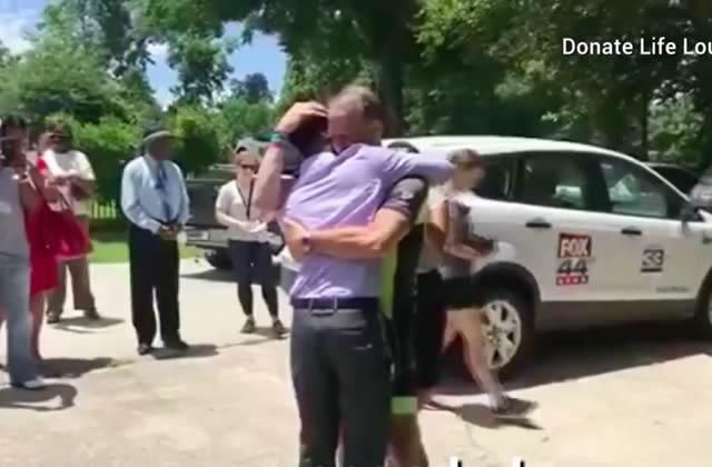 Un père parcourt 2250kilomètres pour écouter le cœur de sa fille décédée