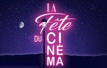 La Fête du Cinéma 2017 revient du 25 au 28 juin, avec ses places à 4€!