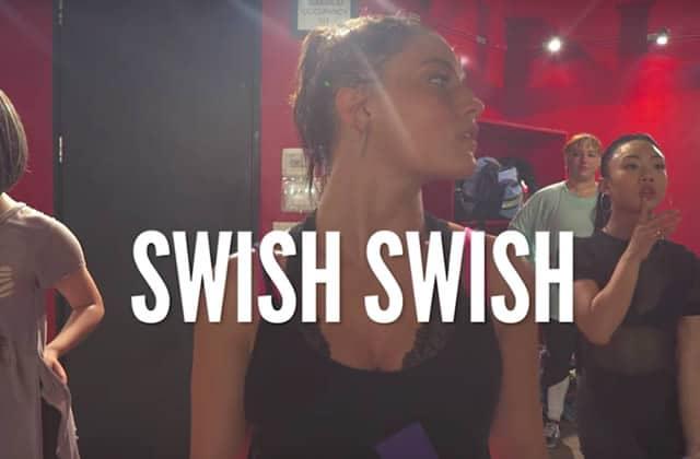 Découvre la chorégraphie surpuissante sur Swish Swish de Katy Perry