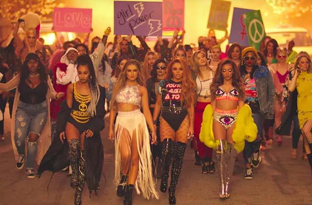 Little Mix prend le pouvoir avec le clip de Power